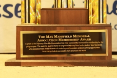 Max Mansfield Trophy Description