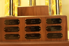 Max Mansfield Trophy Plates '05-'14