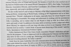 Wojtek Radziwilowicz Spirit Winner