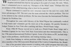 Wayne Kerhrli Spirit Winner